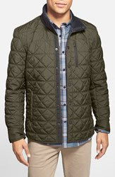 Victorinox Swiss Armyr Men's Army 'Bernhold' Quilted Thermore Insulated Jacket Od Green