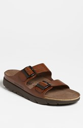 Mephisto 'Zonder 2' Sandal Men Online Only Tan Grain