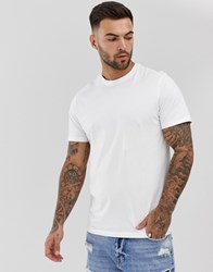 New Look T Shirt With Crew Neck In White