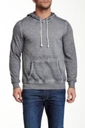 Threads 4 Thought Burnout Pullover Fleece Hoodie Gray