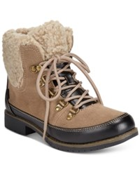 Sporto Darla Lace Up Hiker Booties Women's Shoes