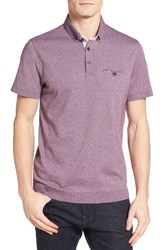 Ted Baker Men's London Frankiy Ribbed Hem Polo