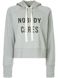 Nobody Denim Cares Hoody Cinder Grey