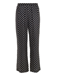 Piamita Penelope Silk Cropped Trousers