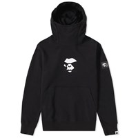A Bathing Ape Double Knit High Neck Pullover Hoody