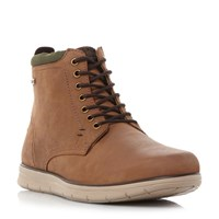 Barbour Burdon Sport Sole Derby Boots Brown