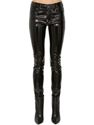 Zadig And Voltaire Patent Leather Pants Black