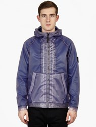 Stone Island Poly Cover Composite Garment Dyed Fleece Lined Coa