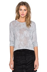 Generation Love Nikki Burnout Tee Gray