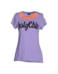 Only T Shirts Purple