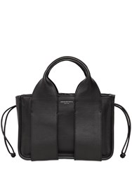 Alexander Wang Small Rocco Leather Tote Bag Black