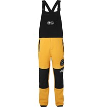 The North Face Summit Series Himalaya Fleece And Shell Dungarees Yellow