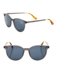 Toms Sun Bellini 52Mm Round Sunglasses Grey