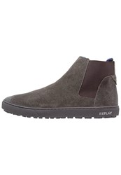 Replay Allem Boots Stone Grey