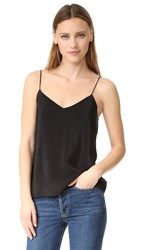 Amanda Uprichard Silk Cami Black