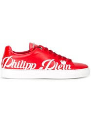 Philipp Plein Summer Sneakers Red