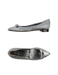 Moschino Cheap And Chic Moschino Cheapandchic Ballet Flats Grey
