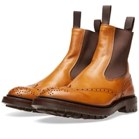 Trickers Tricker's Henry Brogue Chelsea Boot Acorn