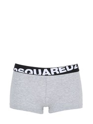 Dsquared Cotton Jersey Shorts