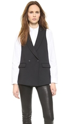 Rag And Bone Dant Vest Black