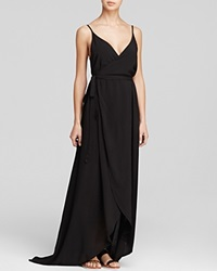 Wildfox Couture Wildfox Clean Black Atlantis Wrap Dress Swim Cover Up