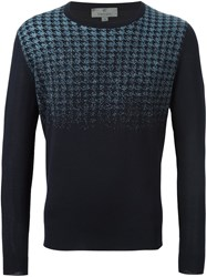 Canali Gradient Effect Jumper Blue