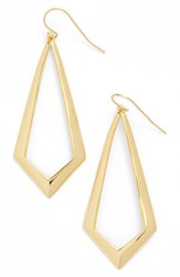 Argentovivo Women's Argento Vivo Triangle Drop Earrings