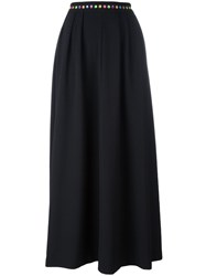 Love Moschino Full Maxi Skirt Black