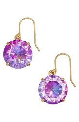 Kate Spade Women's New York 'Shine On' Drop Earrings Fuchsia Abalone