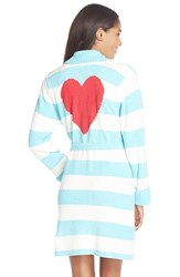 Women's Betsey Johnson Heart Back Sweater Robe