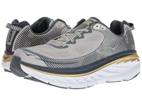 Hoka One One Bondi 5 Cool Gray Midnight Navy Men's Running Shoes