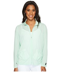 Jamie Sadock Sunsence Lightweight Jacket With Uvp 30 Mint Julep Women's Coat Green