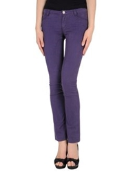 Siviglia Casual Pants Purple