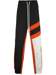 God's Masterful Children Striped Track Trousers White