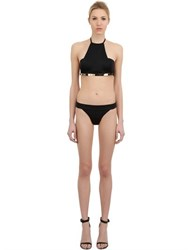 Moeva Lycra Bikini With Metallic Detail