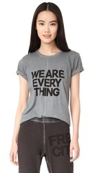Freecity We Are Everything Short Sleeve T Shirt Magical Wet Rocks