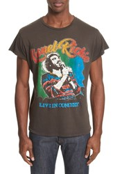 Madeworn 'S Lionel Richie Graphic T Shirt Dirty Black