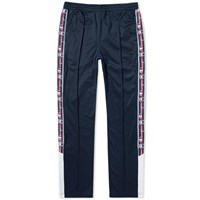 Champion Reverse Weave Popper Taped Track Pant Blue