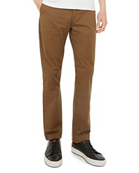 Ted Baker Clasleb Classic Fit Chino Pants Tan