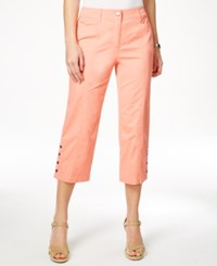 Jm Collection Embellished Capri Pants Only At Macy's