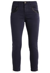 Mos Mosh Glam Slim Fit Jeans Navy Blue