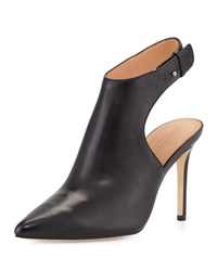 Betty Ankle Strap Bootie Black Halston Heritage