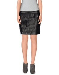 Acne Studios Mini Skirts Black
