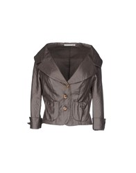 D.Exterior Suits And Jackets Blazers Women Grey