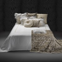 Roberto Cavalli New Gold Bed Set Super King White