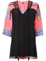 Etro Panelled Tunic Black