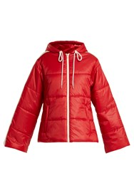 Gucci Quilted Shell Jacket Red