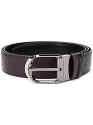 Bally Deming Belt Brown