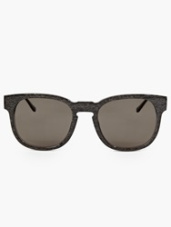 Thierry Lasry Grey Marble Acetate ''Authority'' Sunglasses