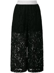 I'm Isola Marras Cropped Lace Trousers Black